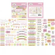 Die Cuts Doodlebug - Bundle of Joy - Chit Chat - 102 st