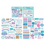 Die Cuts Doodlebug - Winter Wonderland - Chit Chat - 95 st