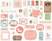Die Cuts Echo Park - Baby Girl - 33 st