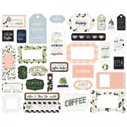 Die Cuts Echo Park - Coffee and Friends - Frames & Tags