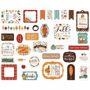 Die Cuts Echo Park - Happy Fall - Ephemera