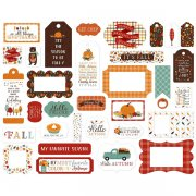 Die Cuts Echo Park - Happy Fall - Frames & Tags