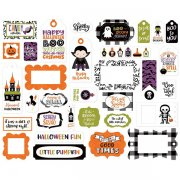 Die Cuts Echo Park - I Love Halloween - Frames & Tags