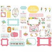 Die Cuts Echo Park - I Love Spring - Frames & Tags