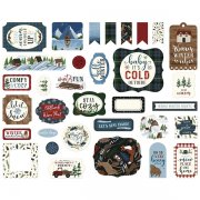Die cuts Echo Park - Warm & Cozy - Ephemera