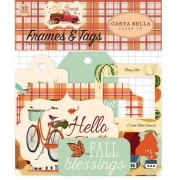 Fall Break Die cuts