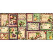 Die Cuts I Graphic 45 - Fruit & Flora - 32 st