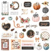 Die Cuts Prima Marketing - Pumpkin and Spice - 39 st