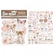 Die Cuts Stamperia - Little Girls
