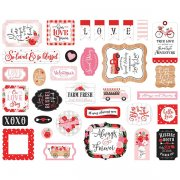 Die Cuts Stickers Echo Park - Cupid & Co. - Icons