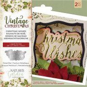 Die set Crafter´s Companion - Vintage Christmas - Christmas Wishes