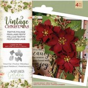 Die set Crafter´s Companion - Vintage Christmas - Festive Foliage