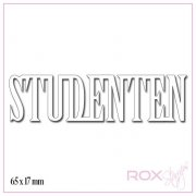 Dies Studenten Rak - 65x17 mm - RoxStamps