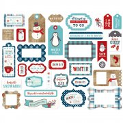 A Perfect Winter - Dies Cuts Frames & Tags - Echo Park