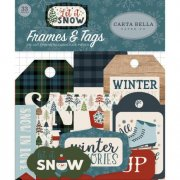 Die Cuts Carta Bella - Let it Snow - Frames and Tags