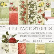 Paper Pad Craft Clock - Heritage Stories - 12x12 Tum