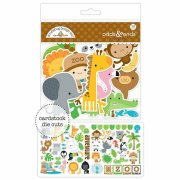 Die cuts Doodlebug - At the Zoo - 73 st