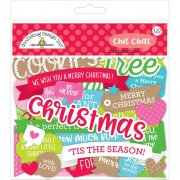 Die cuts Doodlebug - Christmas Town - Chit Chat
