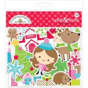Die cuts Doodlebug - Christmas Town - Odds and Ends