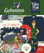 Die Cuts Echo Park - Lost in Neverland - 33 Delar