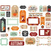 Die Cuts Echo Park - My Favorite Fall - Frames & Tags