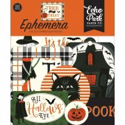 Die Cuts Echo Park - Trick or Treat - Ephemera