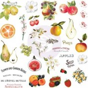 Die Cuts & Stickers Prima Marketing - Fruit Paradise