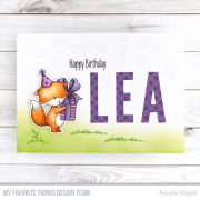 Clearstamps My Favorite Things - Sending Sweet Celebration Wishes