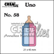 Dies Crealies - Uno - Baby Bottle small