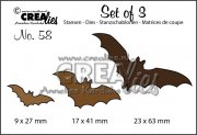 Dies Crealies - Set of 3 - Bats