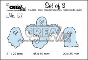 Dies Crealies - Set of 3 - Ghosts