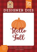 Dies Echo Park - My Favorite Fall - Hello Fall Pumpkin