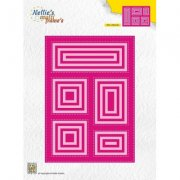 Dies Multi frame Nellie Snellen - Block Die Rectangle