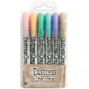 Tim Holtz Distress Crayon Set 5