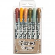 Tim Holtz Distress Crayon Set 10