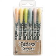 Tim Holtz Distress Crayon Set 8