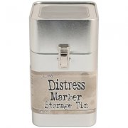 Tim Holtz Distress Tin for Markers - Empty