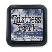 Distress Ink - Chipped Sapphire - Tim Holtz