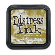 Distress Ink - Crushed Olive - Tim Holtz