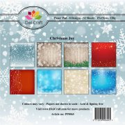 Paper Pad Dixi Craft 6x6 - Christmas Joy - 32 ark