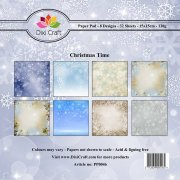 Paper Pad Dixi Craft 6x6 - Christmas Time - 32 ark