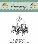 Clearstamp - Dixi Craft - Candles 2