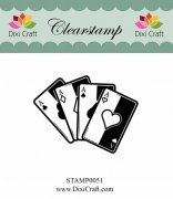 Clearstamp - Dixi Craft - Playing Cards