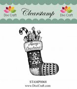 Clearstamp - Dixi Craft - Stocking