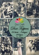 Dixi Crafts Toppers - 7x10cm - Vintage Photos 3