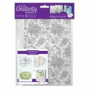 Clear Stamp - Docrafts - Floral Background