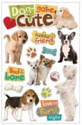 3D Stickers - Dog Gone Cute - Paper House
