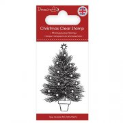 Dovecraft Clear Stamp - Christmas Tree