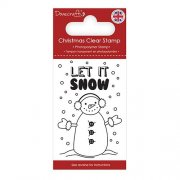 Dovecraft Clear Stamp - Snowman