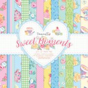 "Paper Pad 12""x12"" - Sweet Moments - Dovecraft - 36 ark"
